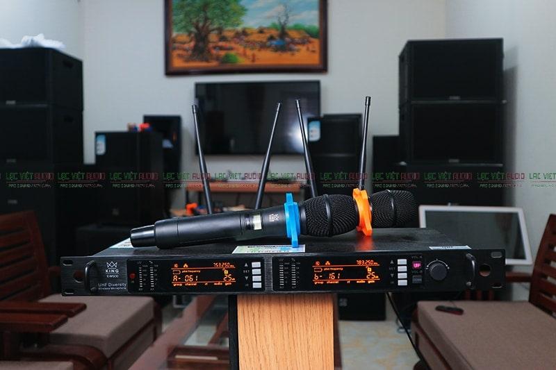 Dòng micro không dây King EW 600 cải tiến thế hệ mới nhất