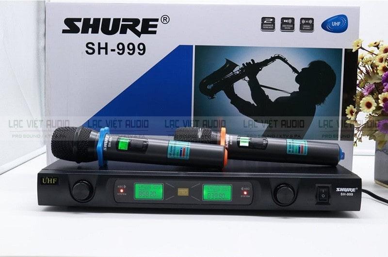 Giới thiệu chi tiết về dòng micro SHURE SH999