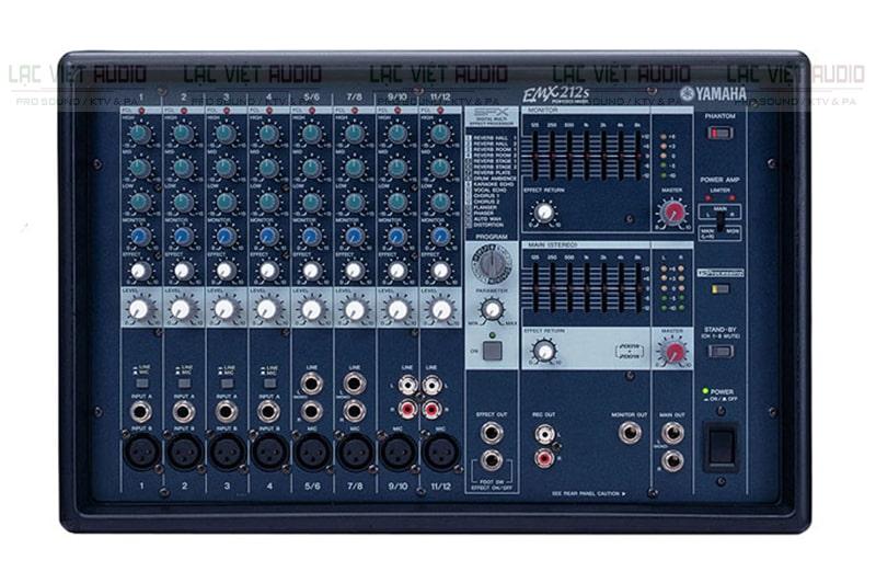 Bàn mixer liền công suất cũ giá rẻ Yamaha EMX 212S: 5.000.000đ