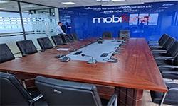 Dự án âm thanh phòng họp cho Trung tâm mạng lưới Mobifone miền Bắc- Đài viễn thông Vĩnh Phúc