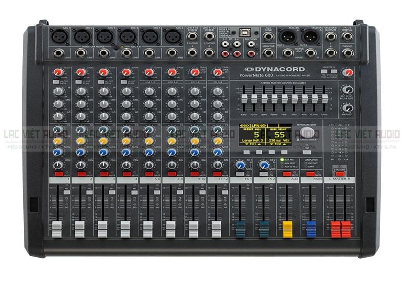 Tính năng bị hạn chế là nhược điểm lớn nhất của bàn mixer có công suất