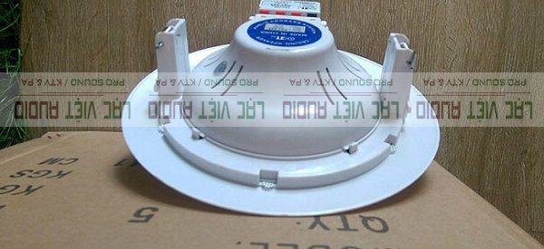 Loa âm trần OBT 808 có tiết kế hiện đại, chắc chắn