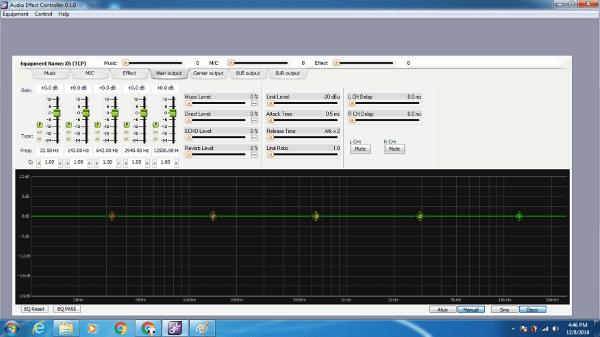 Phần mềm điều chỉnh vang số x5
