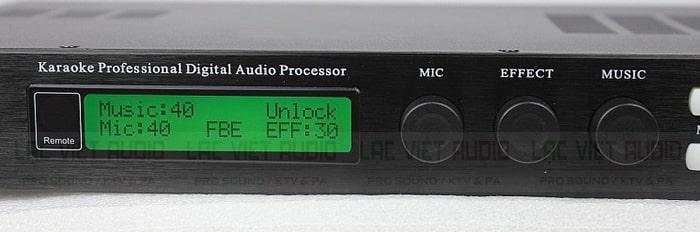 3 phím micro, Efx và Music trên vang số Vinal X5
