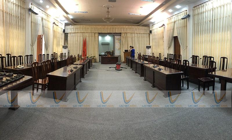 Phòng họp cao cấp tại Bộ Tư lệnh Vùng 1 Hải quân Nhân dân Việt Nam