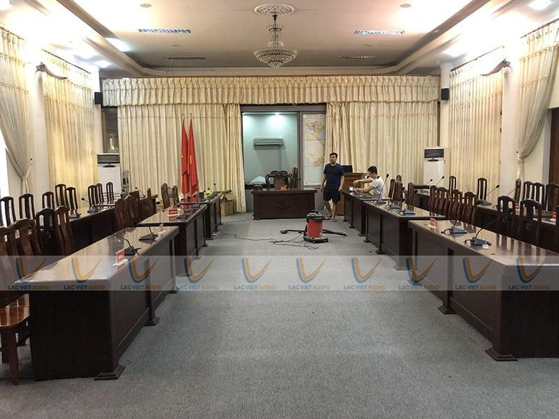 Dự án lắp đặt âm thanh hội nghị cho Bộ Tư lệnh Vùng 1 Hải Quân Nhân dân Việt Nam