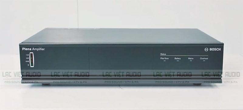 Mặt trước thiết bị tăng âm công suất Plena Bosch LBB1935/20