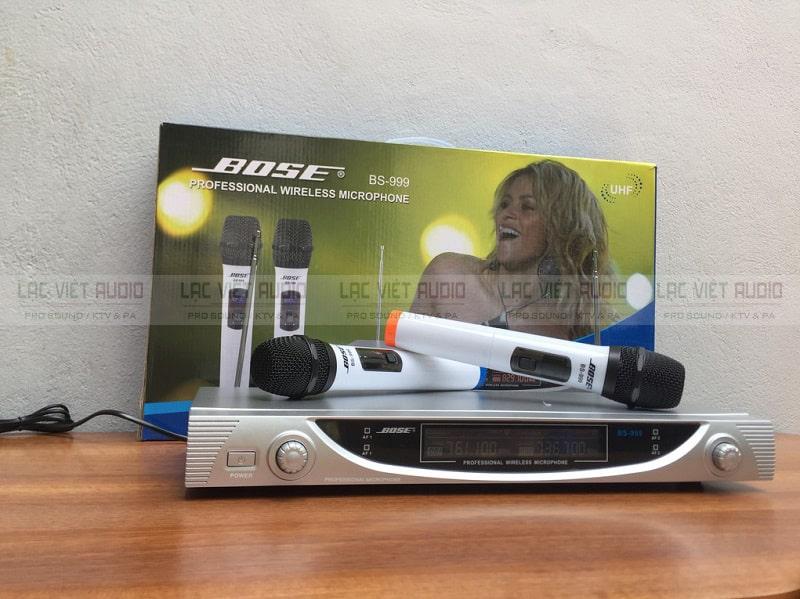 Thiết kế micro Bose 999 phù hợp cho không gian gia đình bạn