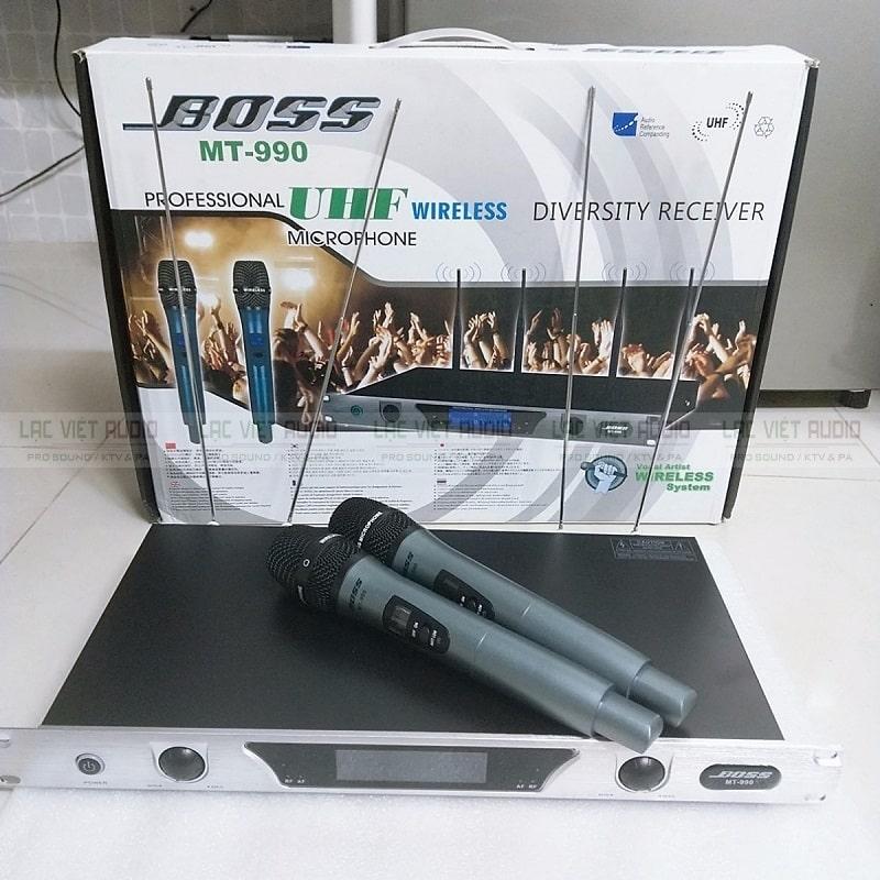 Micro Bose MT 990 micro không dây cao cấp chính hãng giá rẻ