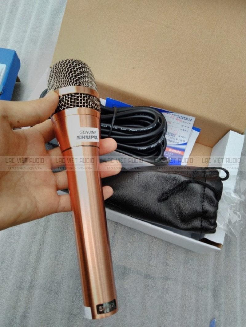 Hình ảnh thực tế micro SHUPU SM 8.2 chính hãng tại Lạc Việt Audio