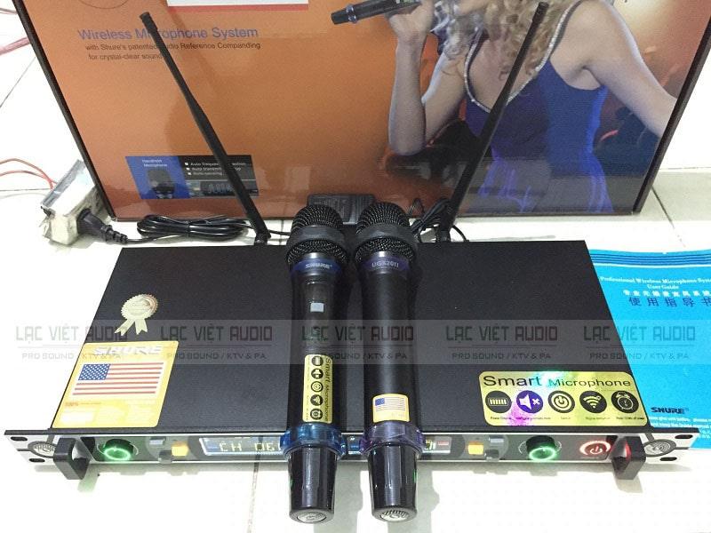 Trọn bộ micro SHURE UGX20 ii loại 1 chính hãng