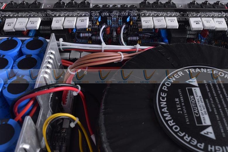 Sò Sanken khuếch đại âm thanh mạnh mẽ, chất lượng âm thanh luôn được đảm bảo