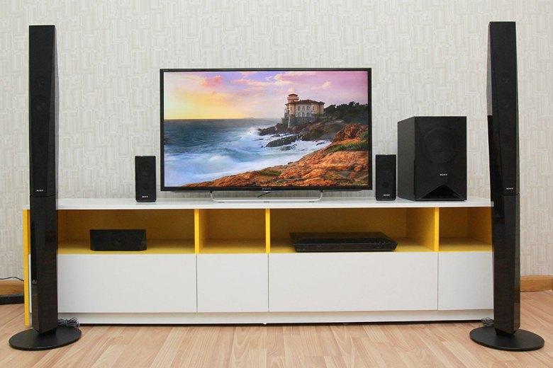Dàn âm thanh Sony BDV-E4100 kiểu dáng sang trọng, hiện đại