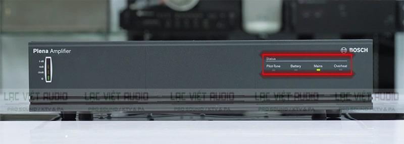 Thiết kế đèn LED ở bảng điều khiển phía của Bosch LBB1935/20