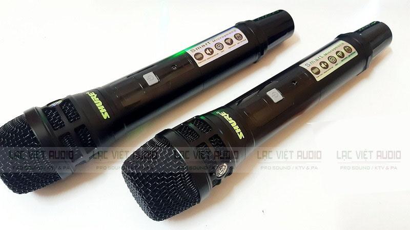 Tay cầm micro không dây SHURE UGX 23 có kiểu dáng hiện đại trẻ trung