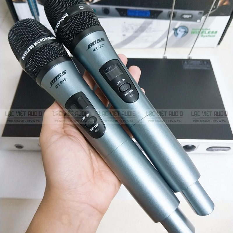 Đánh giá chi tiết micro Bose MT 990 chính hãng