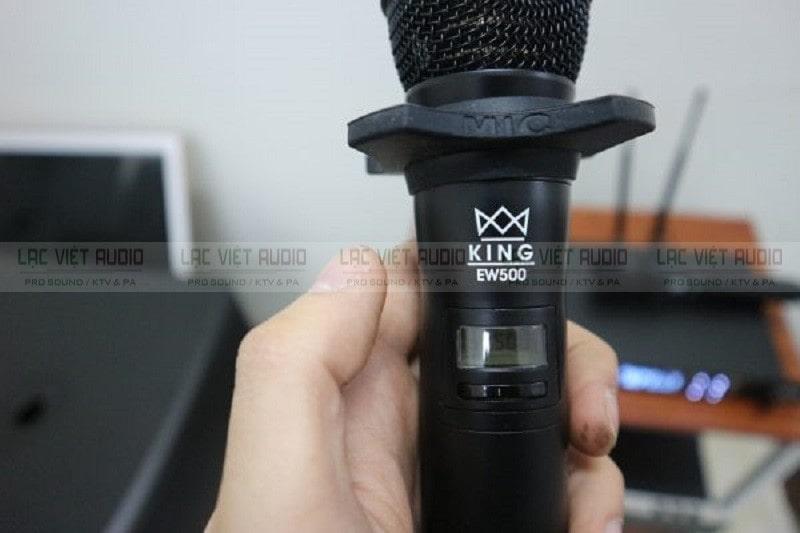micro King EW500 có chất âm hoàn hảo chính xác