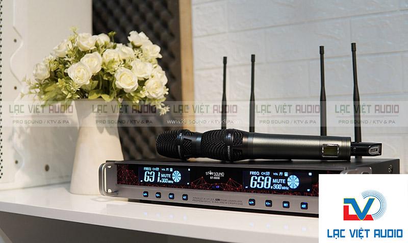Micro không dây Star Sound ST-9000 hàng chính hãng giá đảm bảo nhất