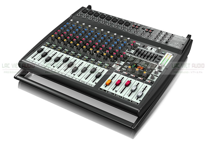 Đa chức năng, linh hoạt, kinh tế là những ưu điểm của bàn mixer liền công suất