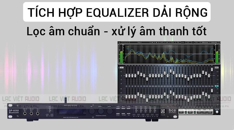 Vang số DP- 9200 Bluetooth lọc âm chuẩn và xử lý tín hiệu âm thanh tốt