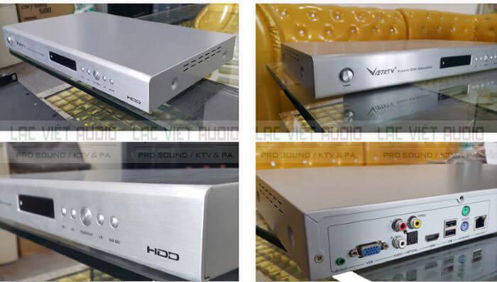 Tổng quan đầu karaoke Việt KTV HD Pro 4TB