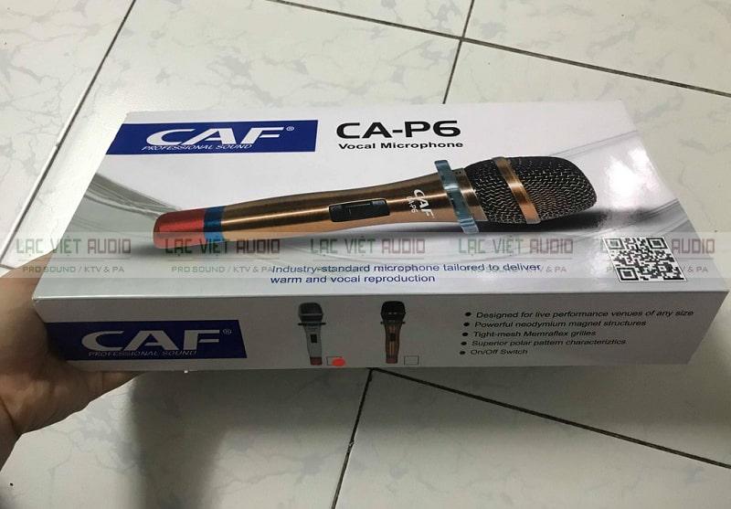 Vỏ hộp CAF CA P6