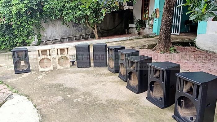 Lạc Việt Audio cung cấp dịch vụ đóng vỏ thùng 4 tấc giá rẻ nhất