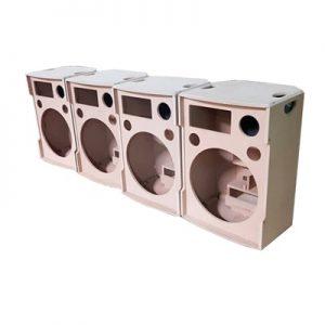 Vỏ thùng loa bass 40 JBL, NEXO, đơn, đôi giá rẻ nhất tại Lạc Việt Audio